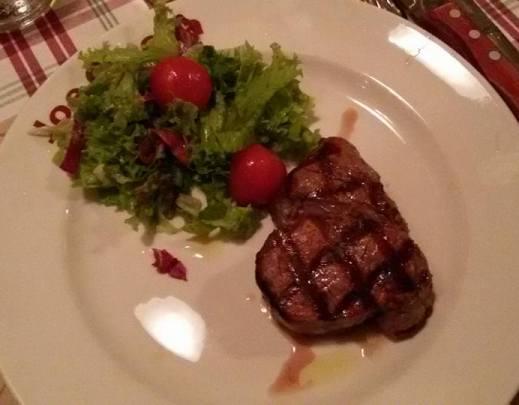 Steak im Joe Cipolla