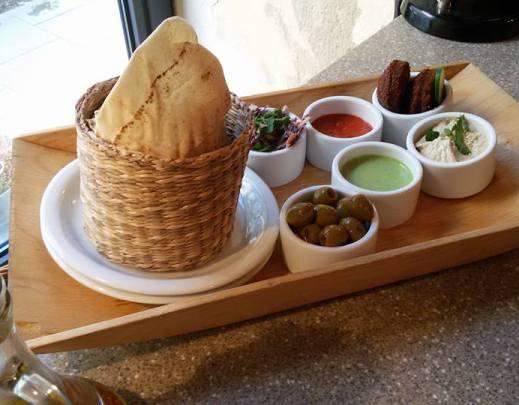 Mezze Platte im Tel Aviv