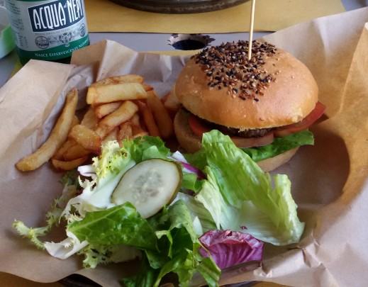 Burger im Rosti